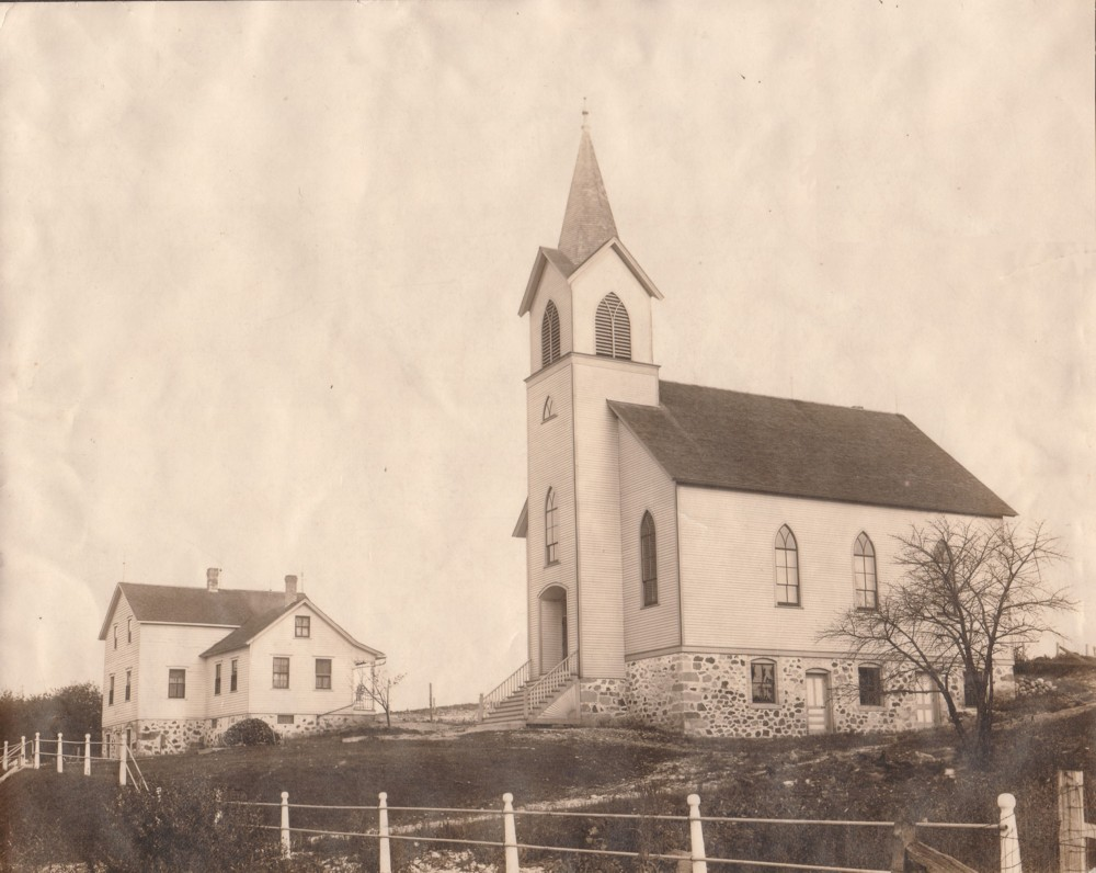 Old church & Parsonage